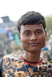 Adolescente indio hermoso Fotos de archivo