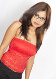 Adolescente indio lindo Imagen de archivo
