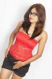 Adolescente indio lindo Foto de archivo libre de regalías