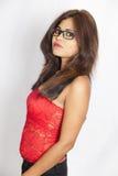 Adolescente indio lindo Imagen de archivo libre de regalías