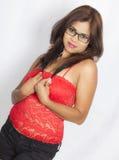 Adolescente indio lindo Fotografía de archivo libre de regalías