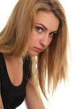 Adolescente infeliz Fotos de archivo