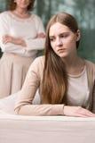 Adolescente introvertido con secretos Foto de archivo libre de regalías
