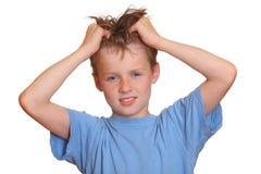 Adolescente irritado Imagem de Stock Royalty Free