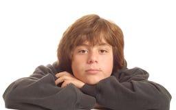 Adolescente joven aburrido Foto de archivo libre de regalías