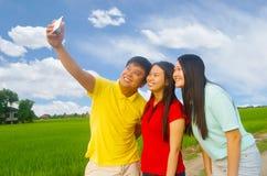 Adolescente joven asiático Fotos de archivo libres de regalías
