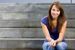 Adolescente joven atractivo Fotos de archivo