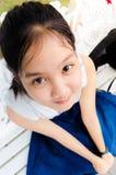 Adolescente joven de la muchacha Fotografía de archivo