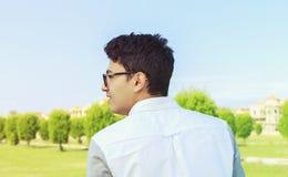 Adolescente joven de la parte posterior Fotos de archivo
