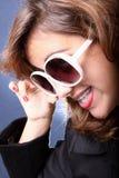 Adolescente joven de moda Foto de archivo libre de regalías
