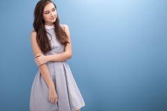 Adolescente joven en estudio Imagen de archivo