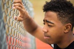 Adolescente joven en pensamiento profundo Imágenes de archivo libres de regalías