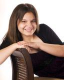 Adolescente joven feliz Imagen de archivo libre de regalías