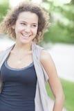 Adolescente joven feliz Fotos de archivo