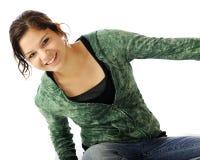 Adolescente joven feliz Fotografía de archivo libre de regalías