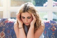 Adolescente joven frustrado Fotos de archivo