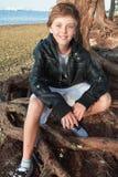 Adolescente joven hermoso Fotografía de archivo