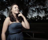 Adolescente joven que reflexiona Fotografía de archivo