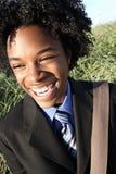 Adolescente joven sonriente Fotos de archivo