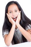 Adolescente joven sorprendido Imagen de archivo