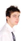 Adolescente lanudo Imagenes de archivo