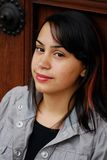 Adolescente latino-americano bonito fotos de stock