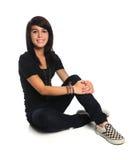 Adolescente latino-americano bonito imagens de stock