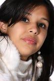 Adolescente latino-americano bonito fotografia de stock