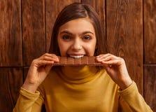 Adolescente lindo Foto de archivo libre de regalías