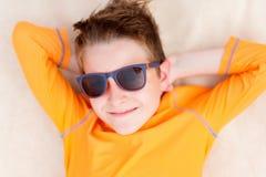 Adolescente lindo el vacaciones Fotografía de archivo