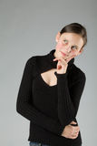 Adolescente lindo joven Fotografía de archivo libre de regalías