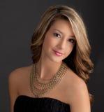 Adolescente lindo vestido para arriba Fotos de archivo libres de regalías