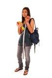 Adolescente listo para volver a la escuela Fotos de archivo