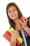 Adolescente listo para volver a la escuela Imagen de archivo