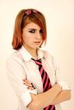 Adolescente lunatico Fotografia Stock