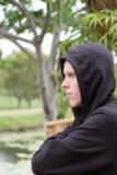 Adolescente lunatico Fotografia Stock Libera da Diritti