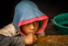 Adolescente malgache Foto de archivo libre de regalías