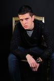 Adolescente maschio attraente Fotografia Stock Libera da Diritti