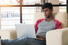 Adolescente masculino indio Foto de archivo libre de regalías