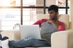 Adolescente masculino indio Imagen de archivo
