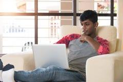Adolescente masculino indio Foto de archivo