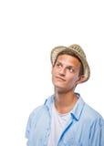 Adolescente masculino joven hermoso Imágenes de archivo libres de regalías