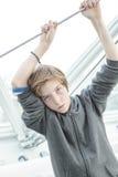 Adolescente masculino soñador Foto de archivo libre de regalías