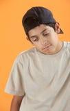 Adolescente melancólico Fotos de archivo