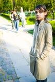 Adolescente melancólico Imagen de archivo