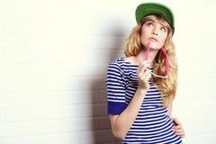 Adolescente moderno Imagenes de archivo