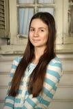 Adolescente moreno hermoso Foto de archivo libre de regalías