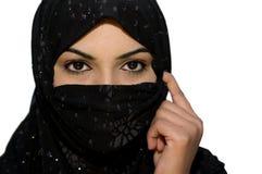 Adolescente musulmano asiatico del sud Immagini Stock Libere da Diritti