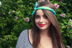 Adolescente na moda Foto de Stock Royalty Free
