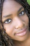 Adolescente nero Fotografia Stock